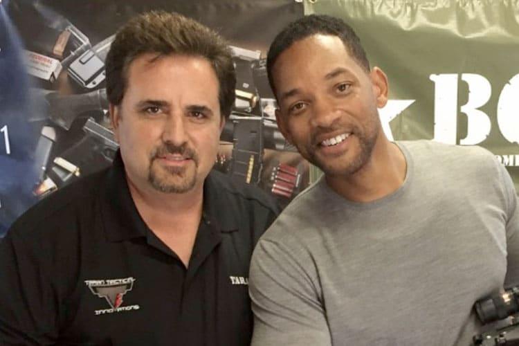 Taran Butler and Will Smith at Taran Tactical Innovations