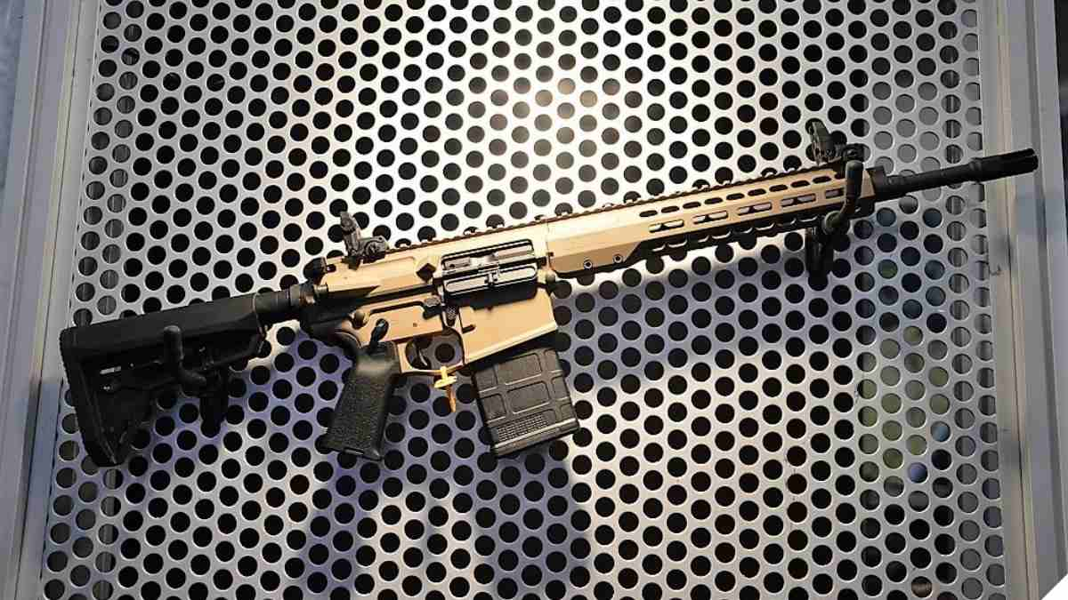The Barrett REC10 in FDE