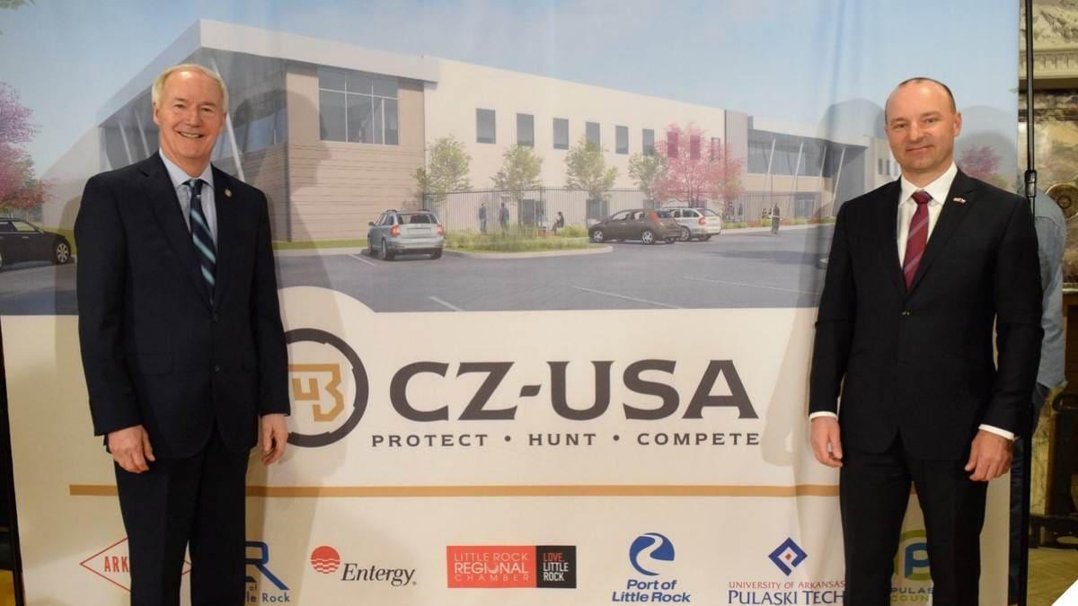 CZ to Build Plant in Gun-Friendly Arkansas