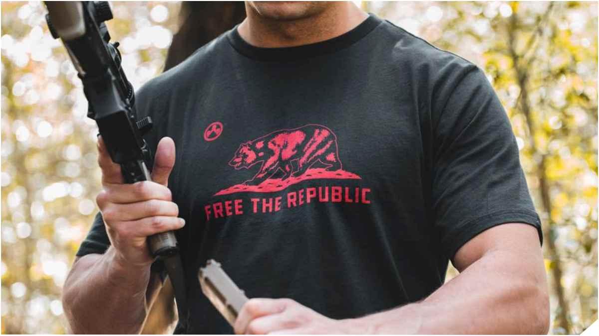 Magpul Free the Republic shirt