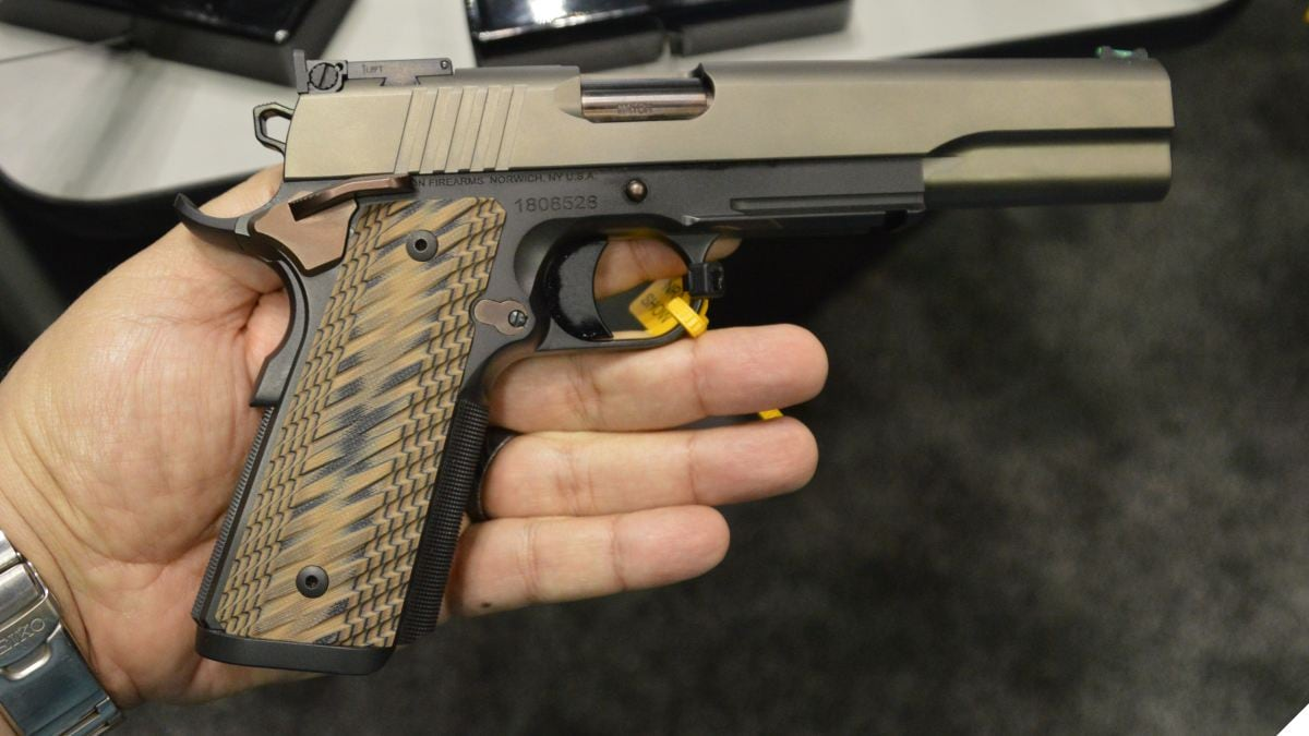 Dan Wesson Shows off New Kodiak 10mm Long Slides at NRAAM