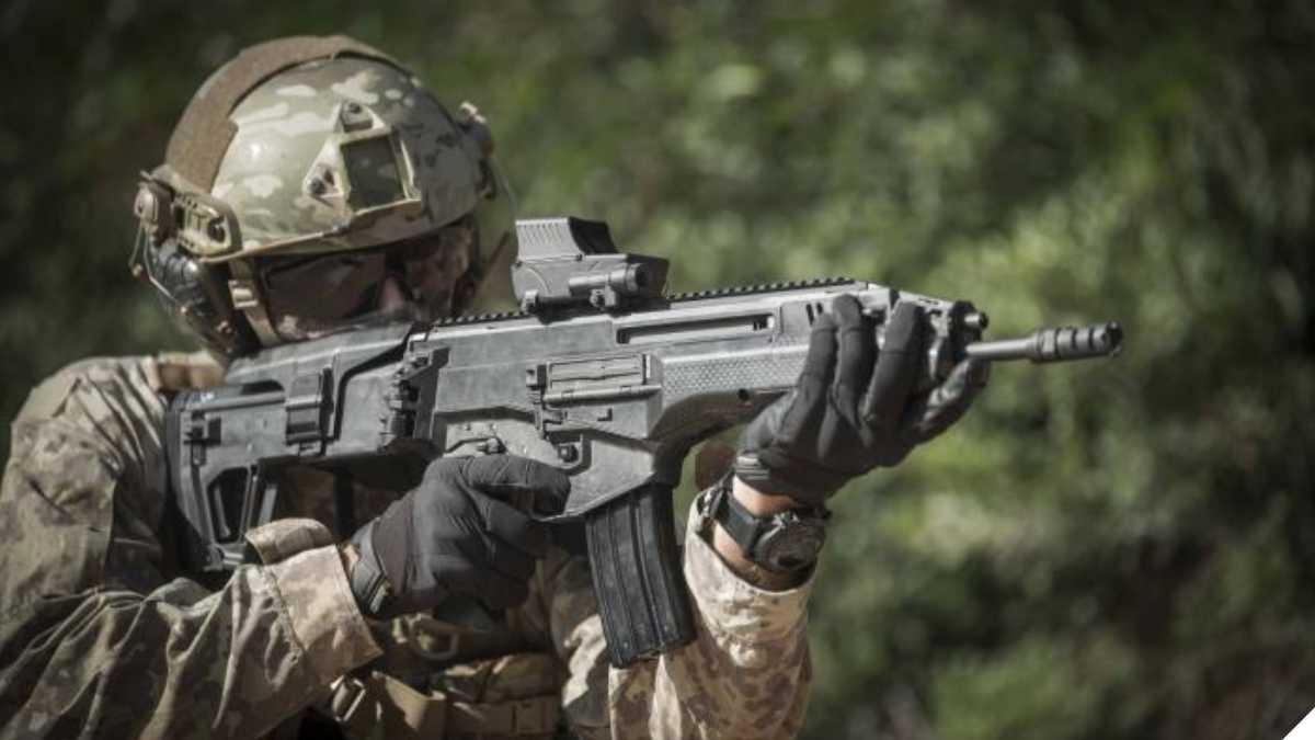 IWI Carmel rifle
