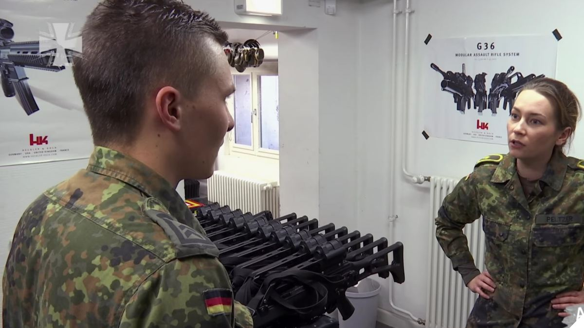 All the HKs you want: Tour of a German Army Armory (VIDEO)