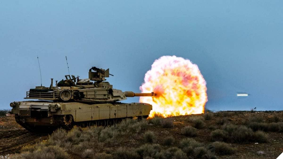 Just Banging Away with a 120mm Tank Gun (VIDEO + PHOTOS)