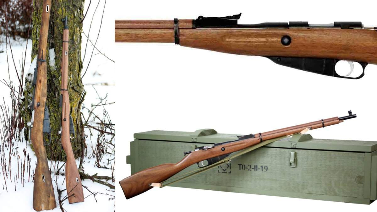 KSA Mini mosin rifle