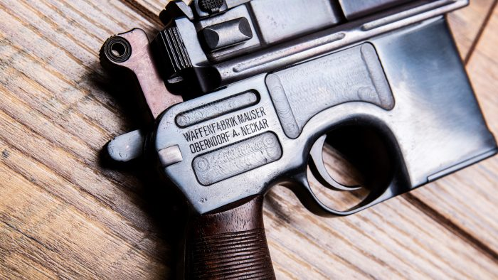 C96 mauser right side