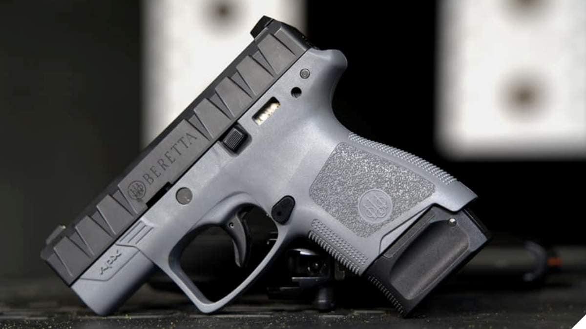 Wolf Grey Beretta APX Carry pistol
