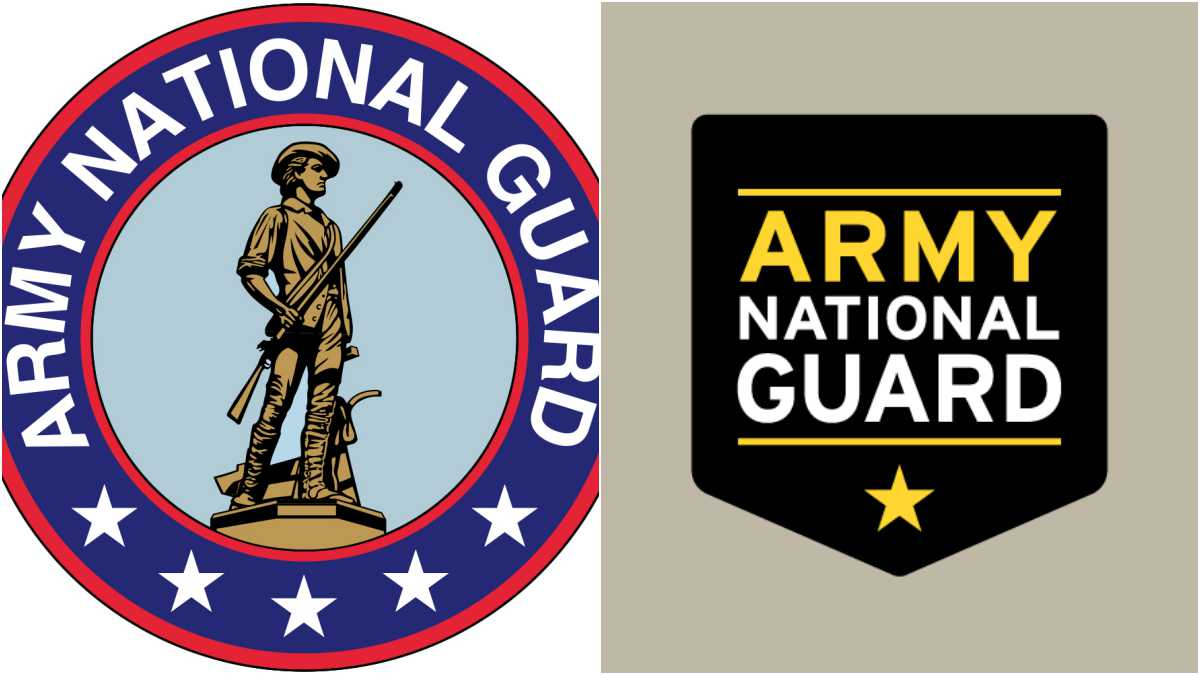 Army National guard logos