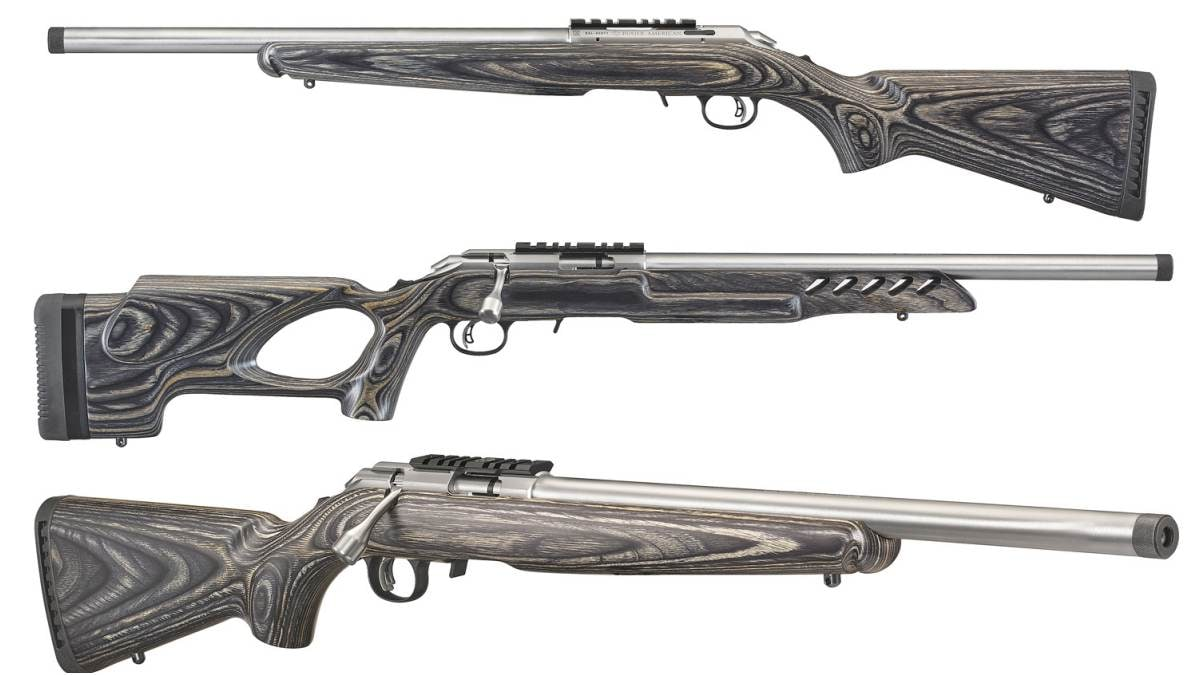 New Series Of Stainless Ruger American Rimfire Rifles Debuted