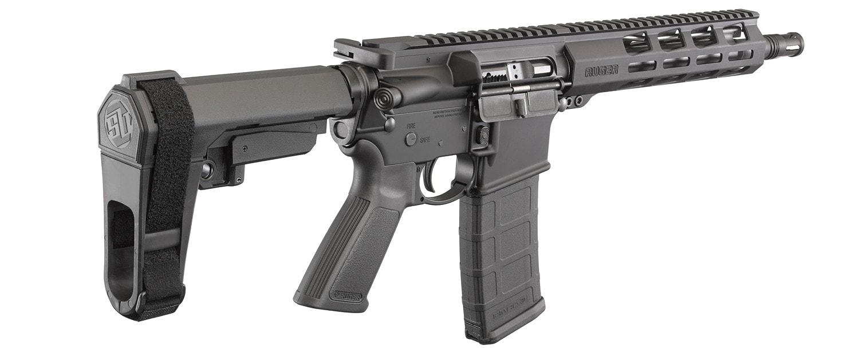 Ruger AR-556 pistol SB Tactical SBA3 pistol brace