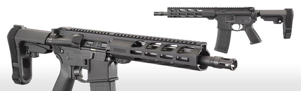 new Ruger AR-556 pistol