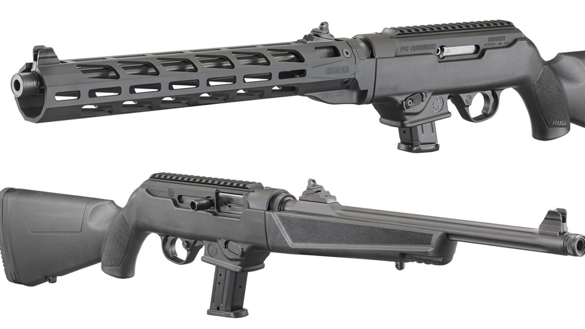 Ruger: 6 New PC Carbines Featuring M-LOK Handguards,  40S&W
