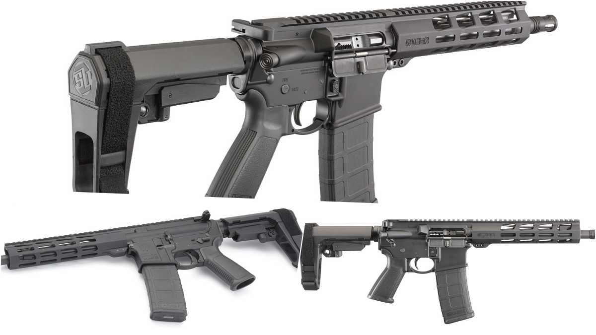Ruger Enters AR Pistol Market With New AR-556 (PHOTOS)