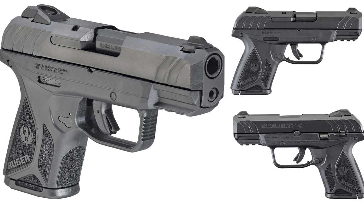 Ruger Security-9 Compact Pistol three views