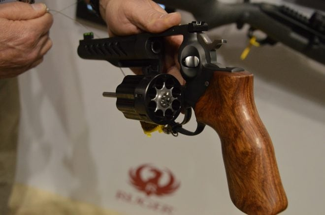 Ruger custom Shop Super GP100 Competition Revolver (1)
