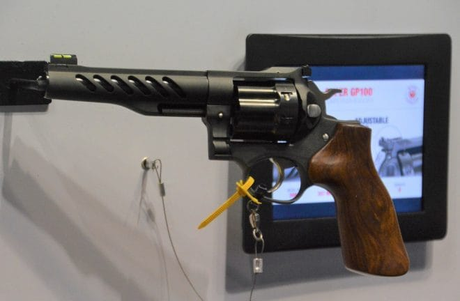 Ruger custom Shop Super GP100 Competition Revolver