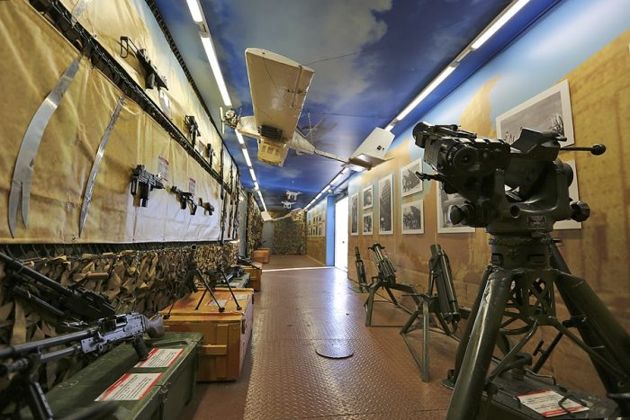 Russian Syrian train FN Mag mortars Uzi Steyr SMG GRAU-BPLA-ALYS9894-900-min