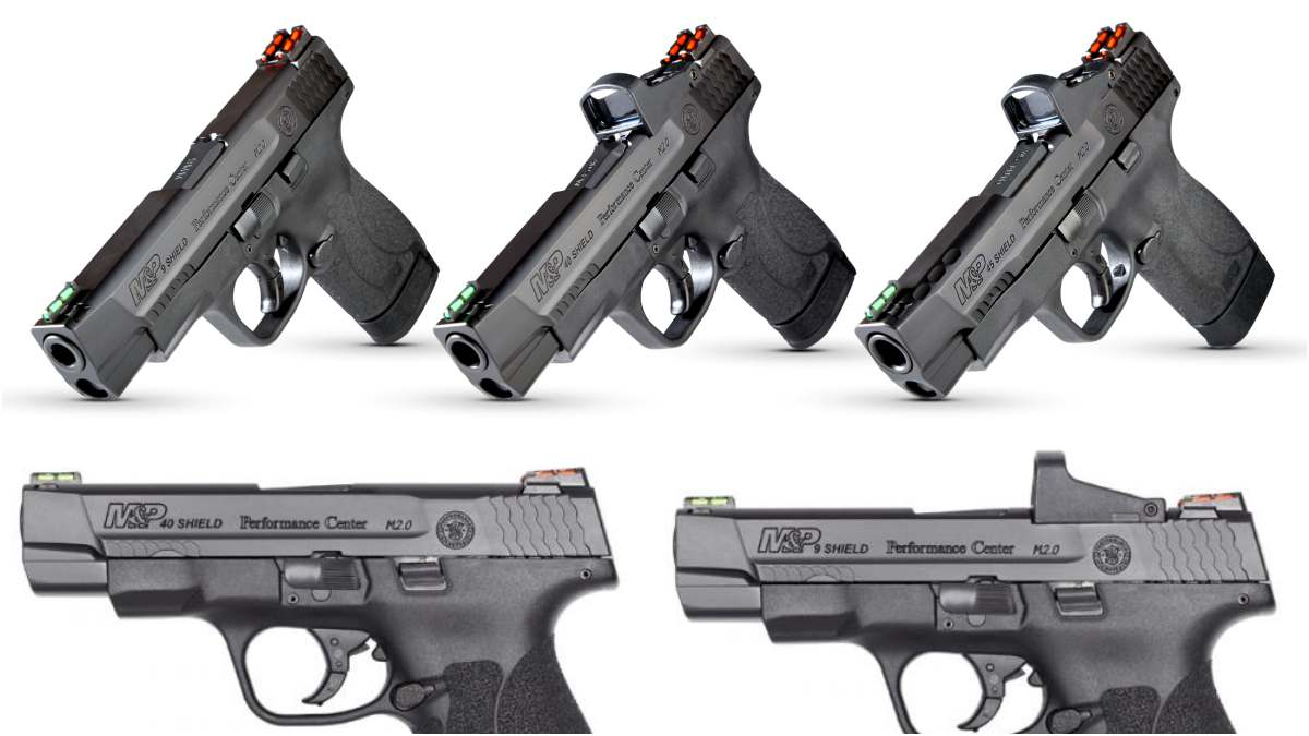 S&W Delivers 4-inch Optics-Ready M&P Shield M2.0 series (PHOTOS)
