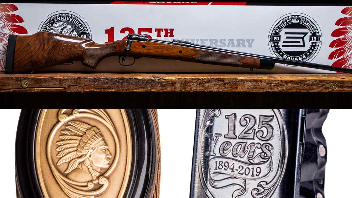 Savage M110 125th anniversary gun