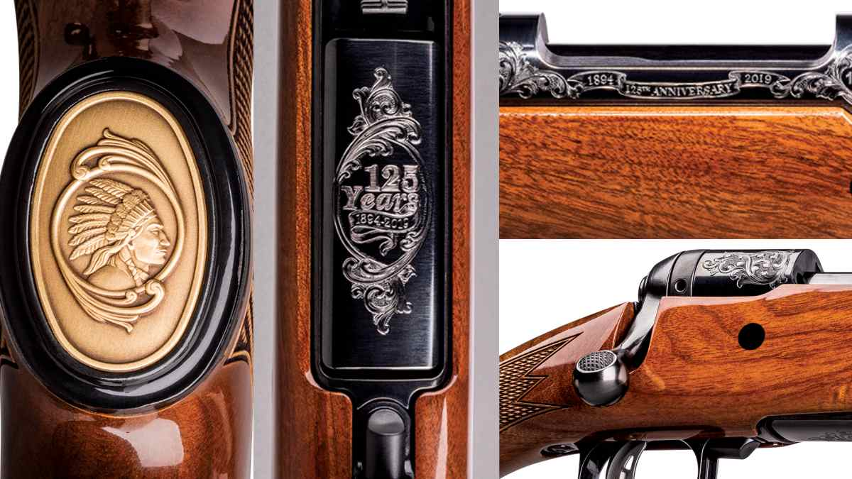 Engravings on Savage 110 125th anniversary gub
