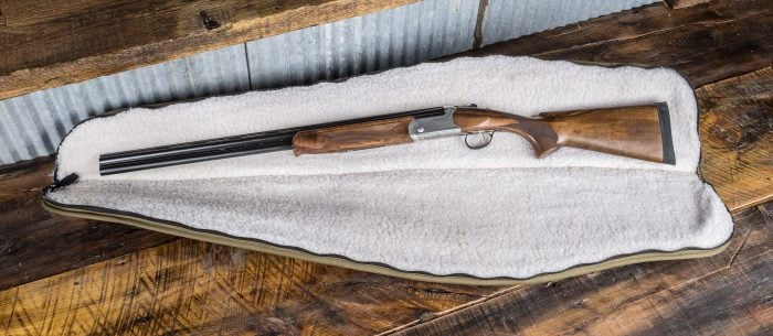 Stevens 555E 16 gauge over and under shotgun