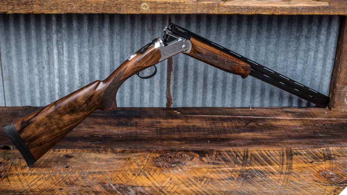 Stevens 555E 16 gauge over and under shotgun