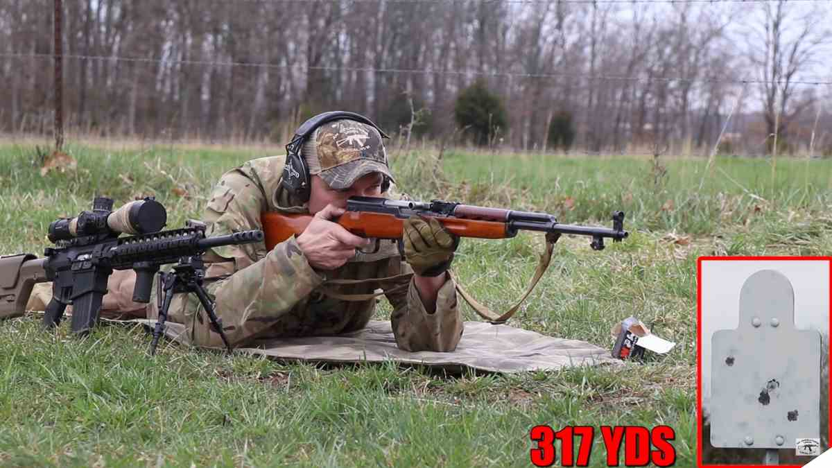 Stretching the Legs of an SKS Out Well Past 300 Yards (VIDEOS)