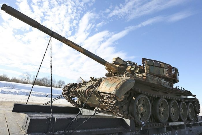 Syrian train T-55 russian 2