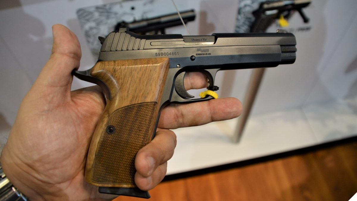 The New All-American-Made Sig P210 Standard (VIDEO)