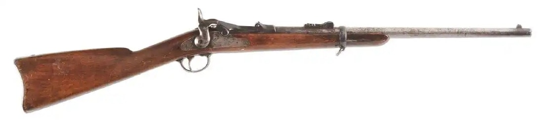 The Trumpeteer Carbine, Forensically Confirmed & Soldier Identified to the Last White Man To See Custer Alive Model 1873 Springfield Trapdoor Carbine (1)