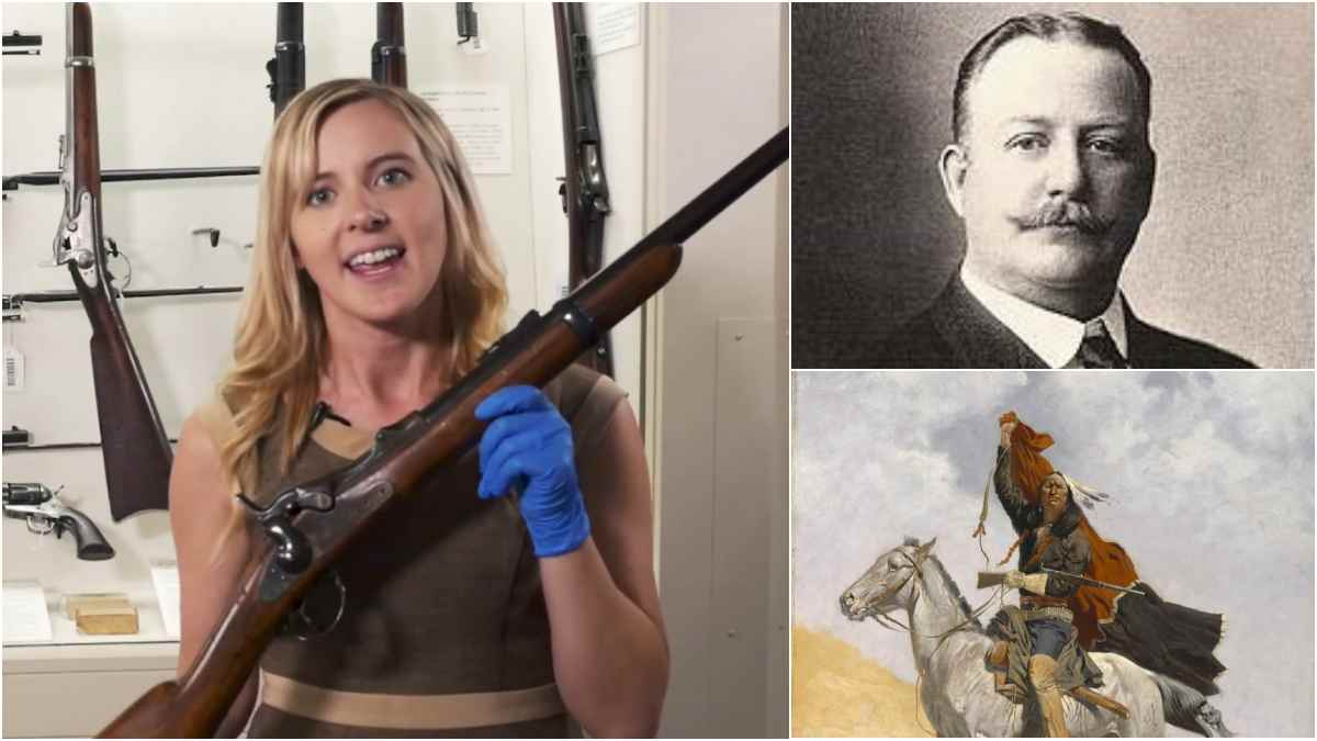 Visiting Frederic Remington's Personal Trapdoor Springfield (VIDEO)