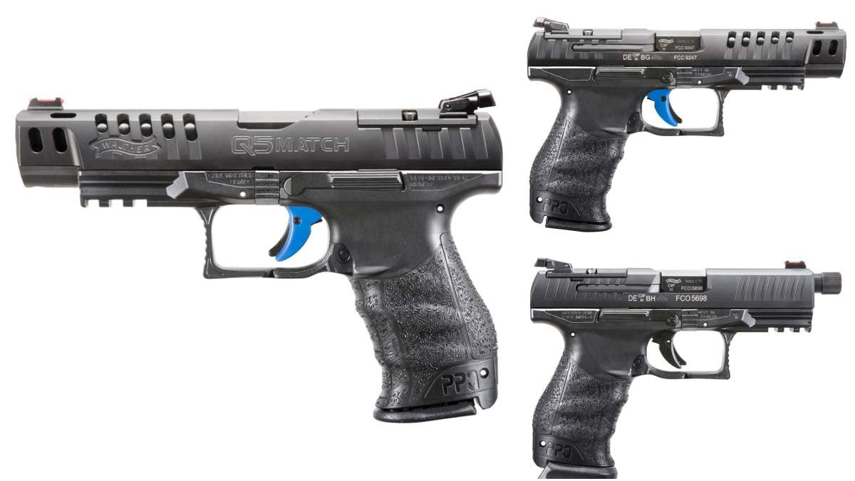 Walther Paddle Release PPQ Q4, Q5 Match Pistols M1