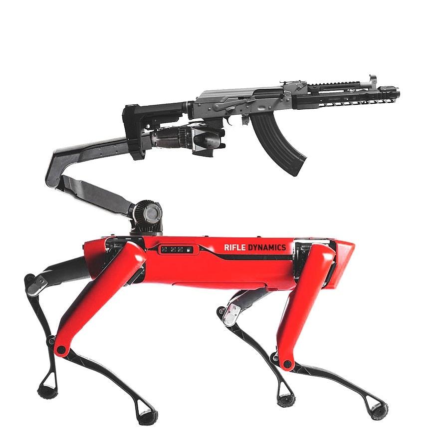 the first quadrupedal Kalashnikov in the world. The RD704R
