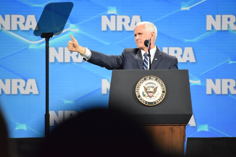 Vice President, mike pence, nra