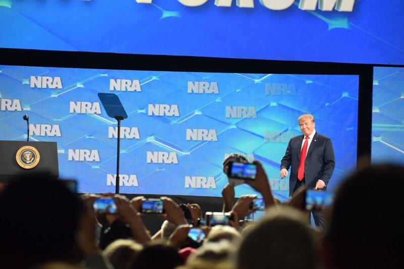 President Trump, NRA