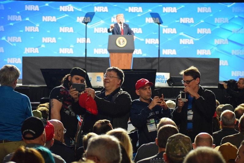 NRA, Trump