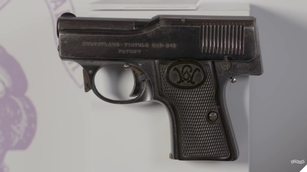 Walther Model 1 pistol