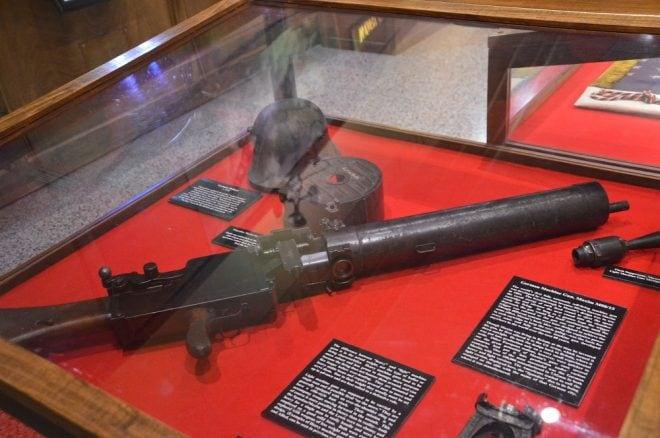 And a German MG0815 LMG