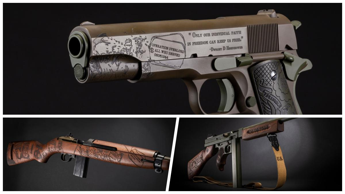 Auto-Ordnance Salutes 75th D-Day Anniversary with Custom Guns (PHOTOS)