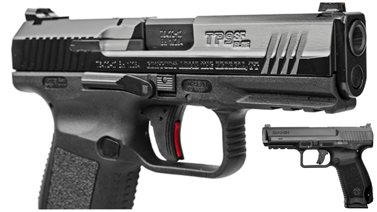 Canik Debuts New Low-Cost TP9SF ONE Pistol Line