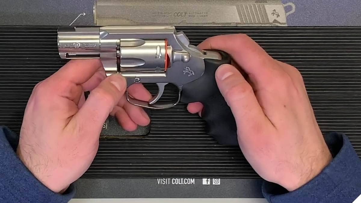 Colt Builds Wheel Gun Line with New King Cobra Carry (VIDEO)