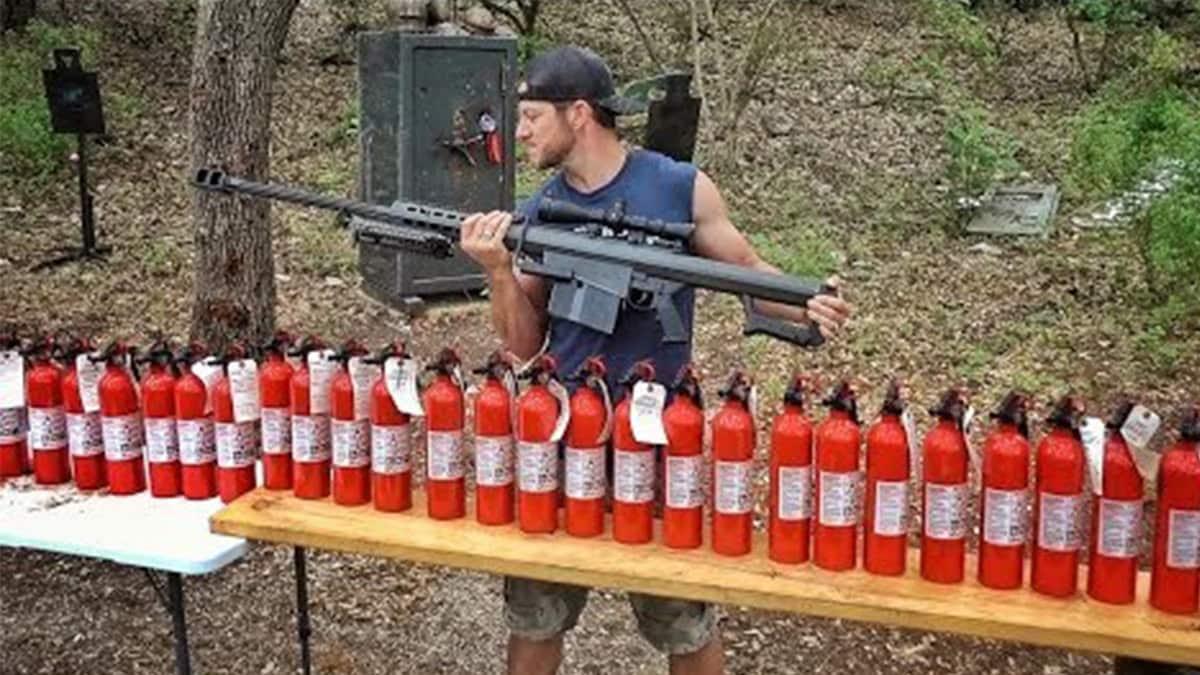 Demolition Ranch Asks Are Extinguishers Bulletproof Video Guns Com