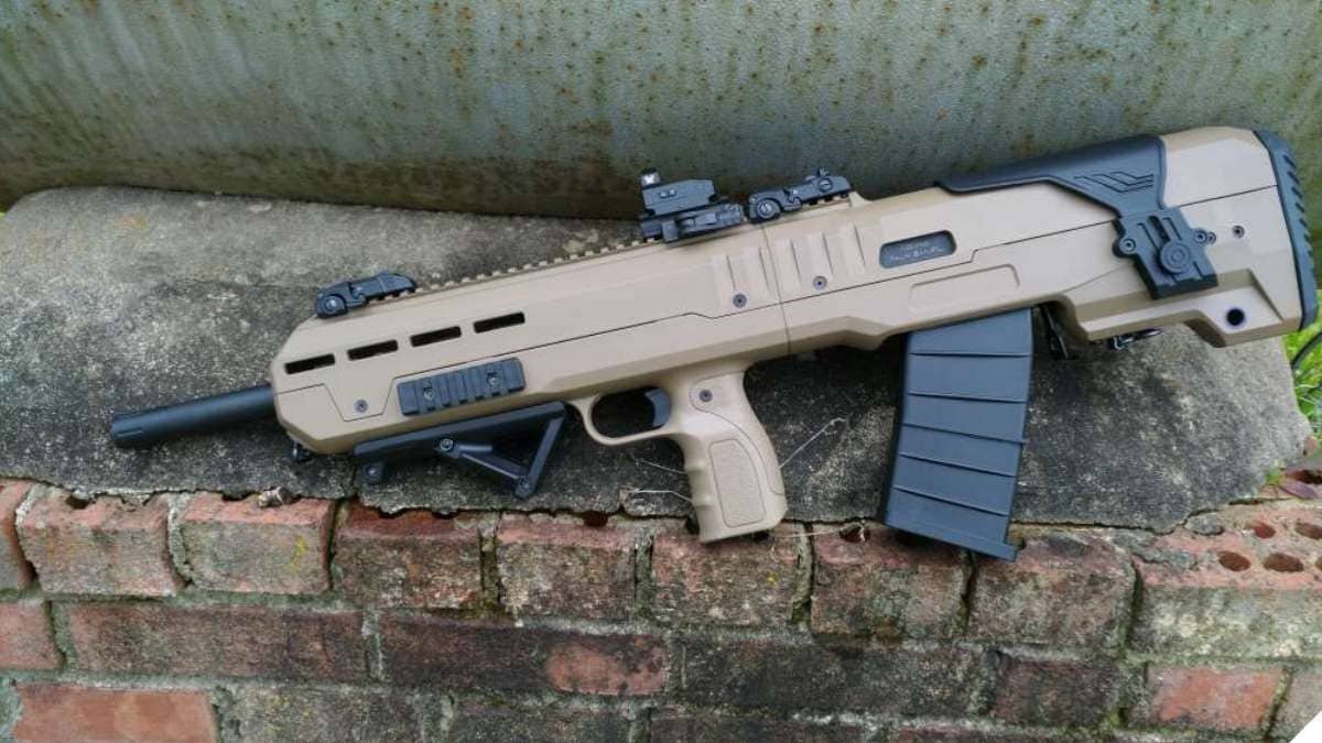 Inter Ordnance Announces IO XB 12 ga Bullpup Shotgun (VIDEO)