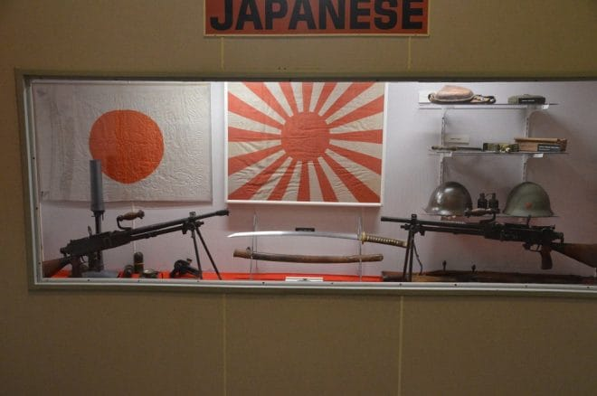 """Japanese weapons from WWII include Arisaka carbines and rifles alongside Nambu light machine guns and a """"Knee"""" mortar which you shouldn't actually fire from your knee unless you are a fan of physical therapy."""