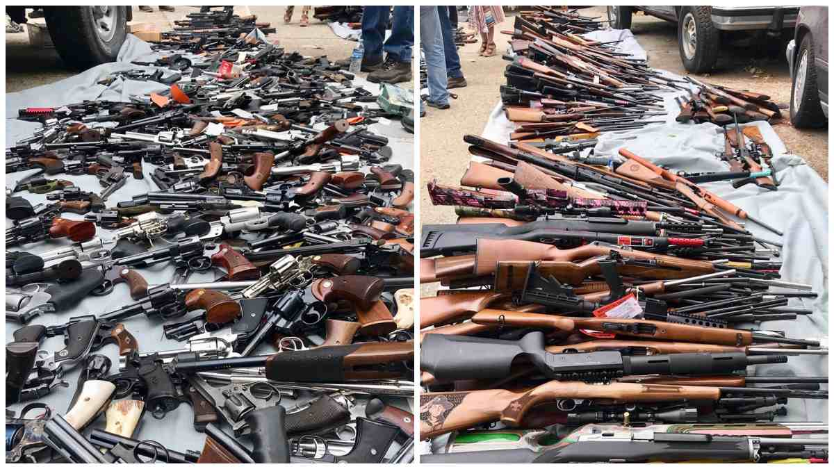LAPD Impound 1,000 Guns from California Man (PHOTOS)
