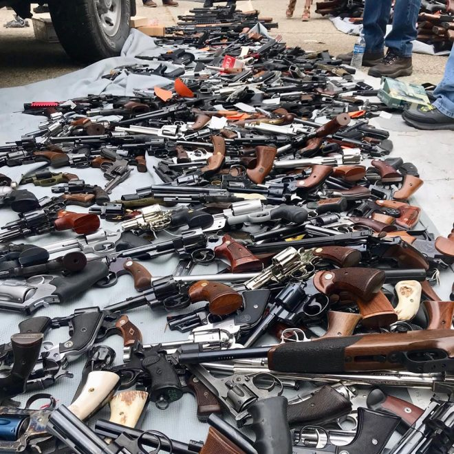 LAPD Impound 1,000 Guns from California Man (PHOTOS) (1)