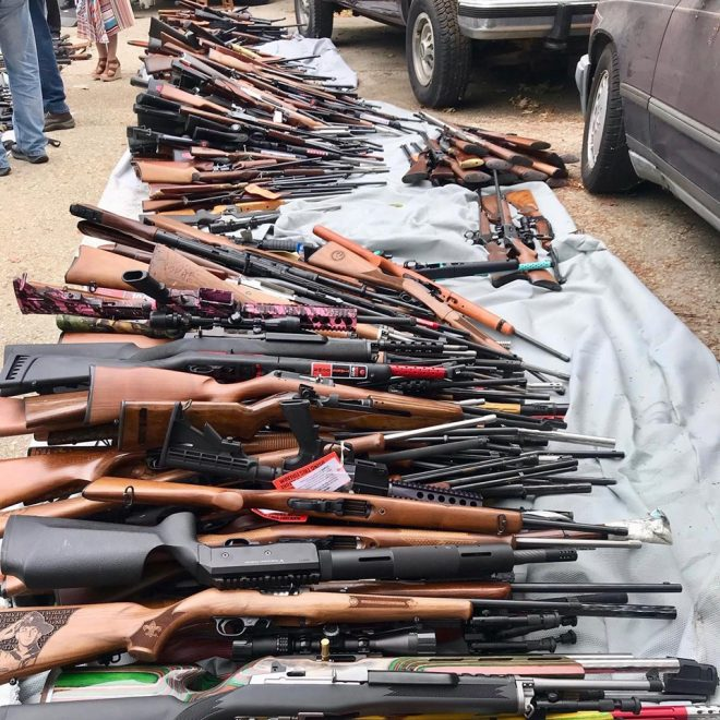 LAPD Impound 1,000 Guns from California Man (PHOTOS) (3)