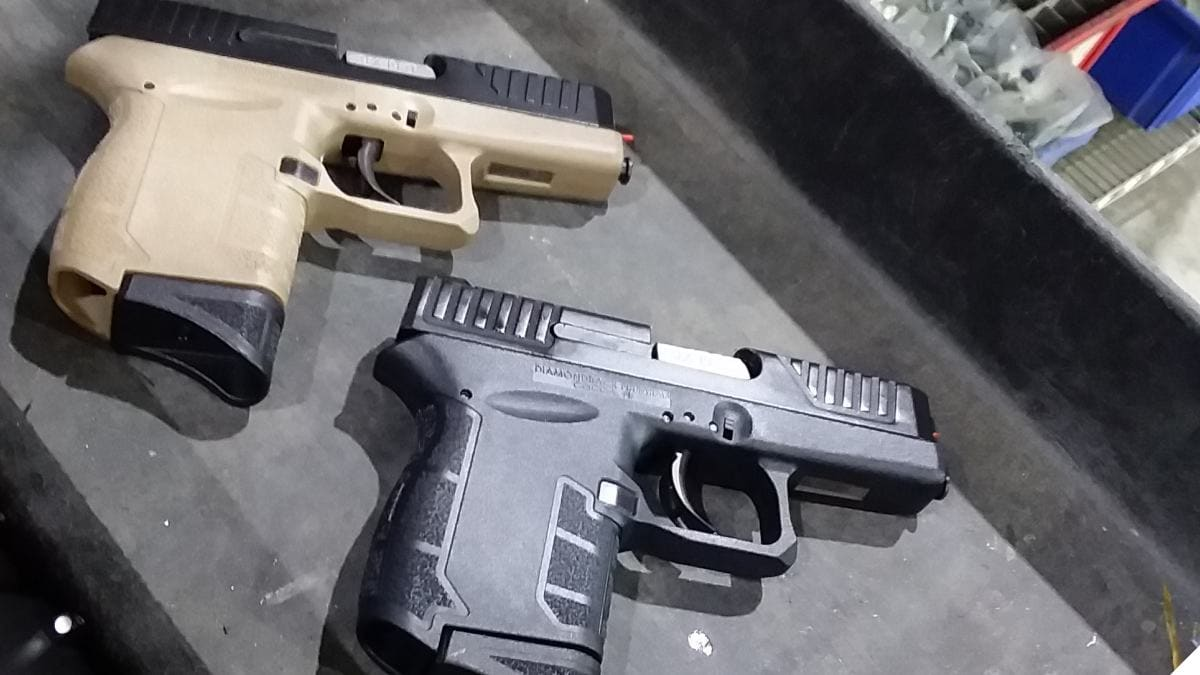 Diamondback DB9 pistols