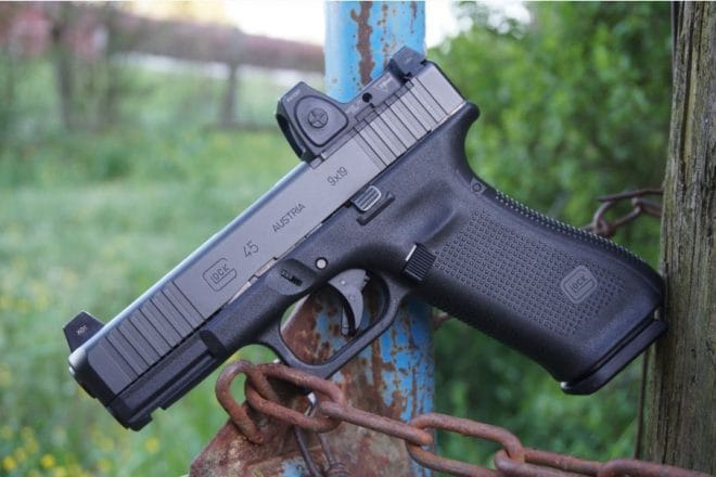 Glock Delivers Optic-Ready G45 MOS to Market (PHOTOS