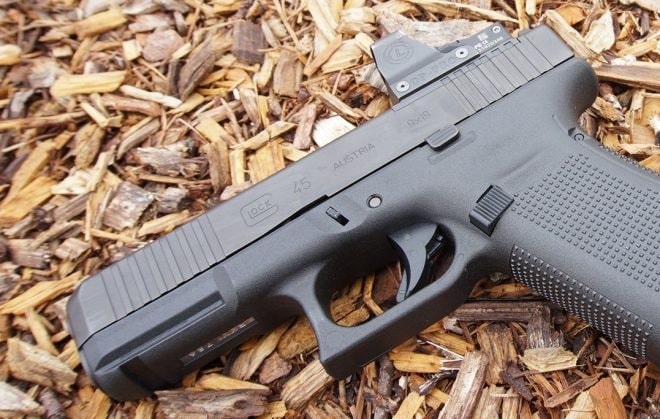 Modular Optic Ready Glock G45 MOS s